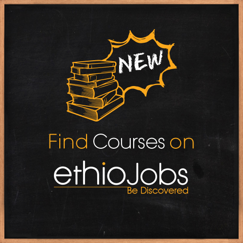 Ethiojobs Launched Its Courses Page