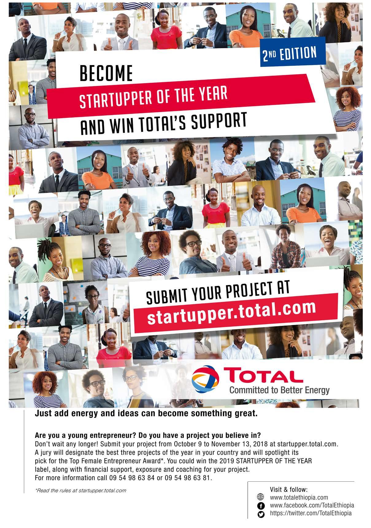 TOTAL Kicks off Startupper 2018