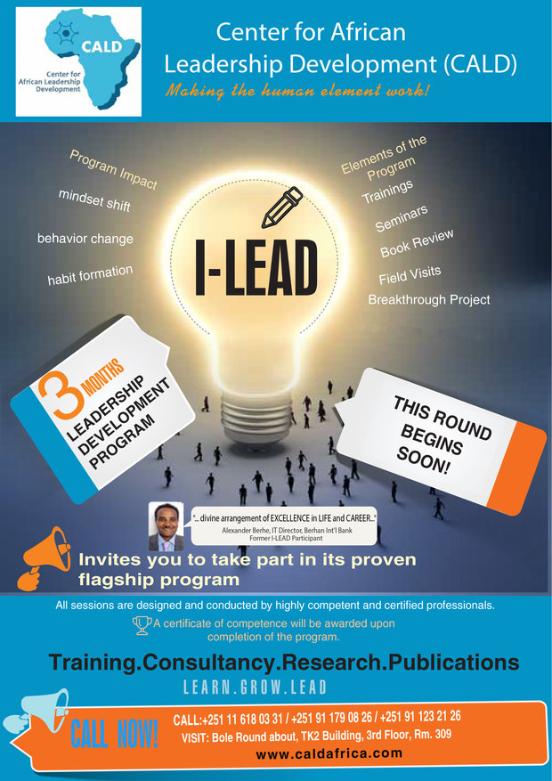 I-Lead program promo pictures