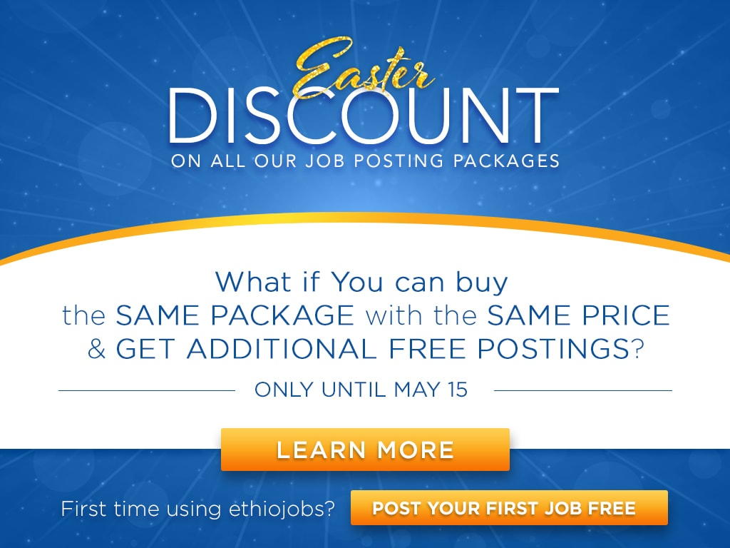 Ethiojobs Discount Offer