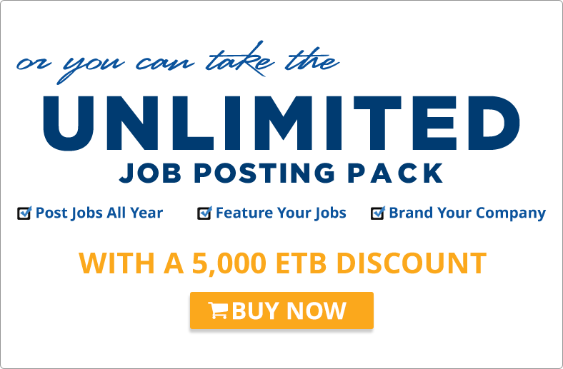 Ethiojobs Unlimited Discount Offer